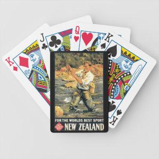 För nyazeeländska världens bäst sport spelkort