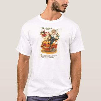För O för dräktpojkejack pumpa Apple lykta Tee Shirt