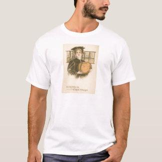 För O för kvinnastudentenjack pumpa lykta Tee Shirts