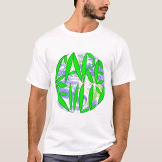 För omsorg jord fullständigt tee shirts