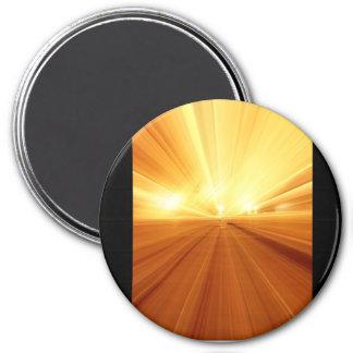 För orangeabstrakt för guld gul Blur för Zoom Magnet
