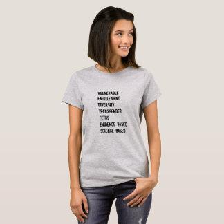 För ordskjorta för CDC 7 förböd kvinnor Tröja
