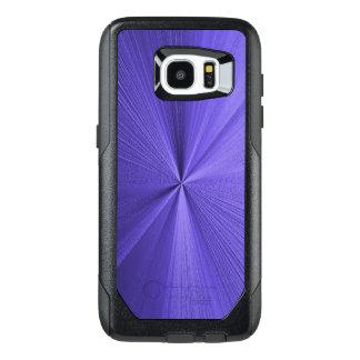 För Otterbox för Look för lilablått metalliskt OtterBox Samsung Galaxy S7 Edge Skal