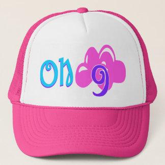 """۞ för ۞"""" """"på moln 9"""" - Lycklig-Chic truckerkeps """""""