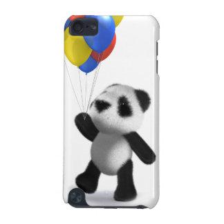 för Pandaballonger för baby 3d design iPod Touch 5G Fodral