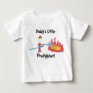 För pappor brandman lite! t-shirt