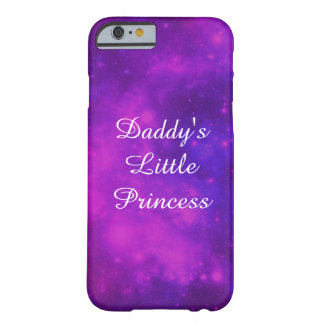 För pappor Princess lite Barely There iPhone 6 Fodral