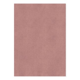 För Parchmentantikvitet för vintage rosa mall för Set Av Breda Visitkort