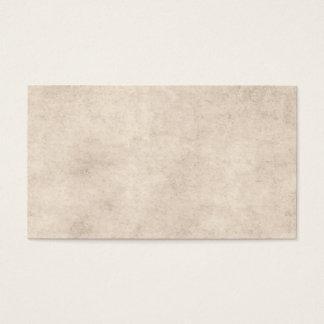 För Parchmentpapper för vintage tom papper mall Visitkort