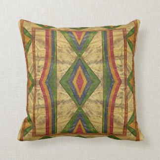 För Parfleche för indian (Sioux) kudde stil