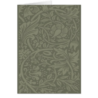 För påskliljaart nouveau för vintage chic design hälsningskort
