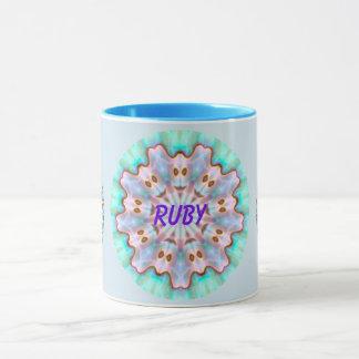 För Paua för RUBY ~ personifierad ~ för Fractal Mugg