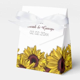 för personligbröllop för solrosor boxas den blom-