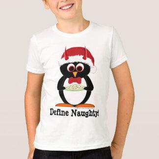 För pingvinhelgdag för ungar ond skjorta t-shirts