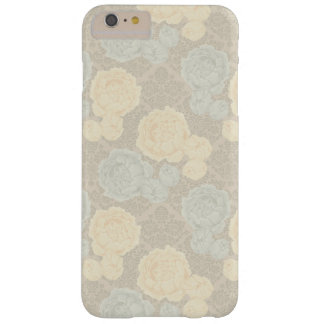 För pioniPhone 6 för vintage blom- fodral för plus Barely There iPhone 6 Plus Skal