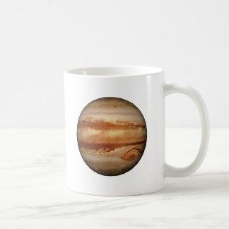 ~ för .PLANET JUPITER v.3 (sol- system) Kaffemugg