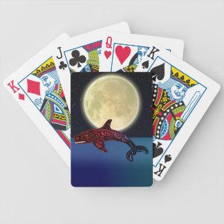 För Pole för indianHaidaTotem däck kort Spelkort
