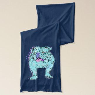 För pophund för engelsk bulldogg unik färgrik halsduk
