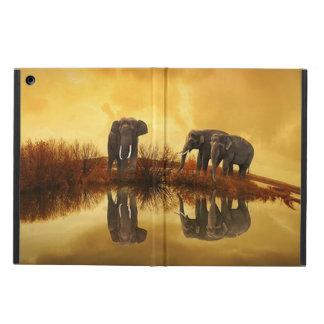 För Powis för elefantTriodjurliv fodral för luft i