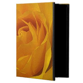 För Powis för gul rosPetals fodral för luft 2 iPad
