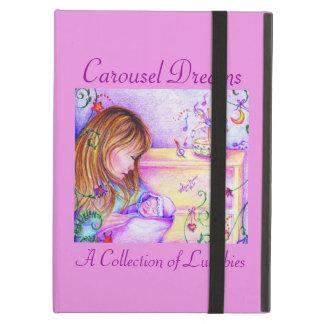 För Powis för karuselldrömmar rosa fodral för luft