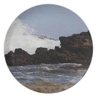 För Prawle för södra Devon kusten östligt hav .1. Tallrik
