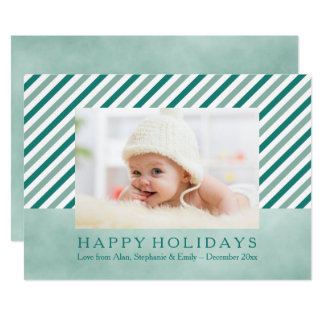 För randfoto för kricka diagonalt kort för helgdag 12,7 x 17,8 cm inbjudningskort