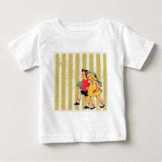 för randhötorgskonst för back to school retro t shirt