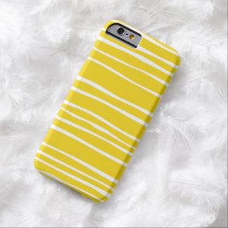 För randmönster för citron skraj fodral för iPhone Barely There iPhone 6 Skal