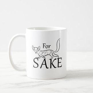 För rävSake Kaffemugg