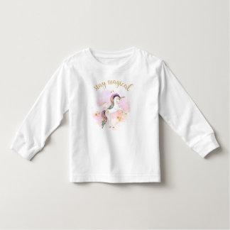 För regnbågeUnicorn för stag Magical utslagsplats Tee Shirts