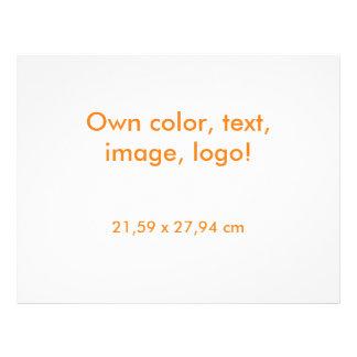 För reklambladet vit uni - äga färg reklamblad
