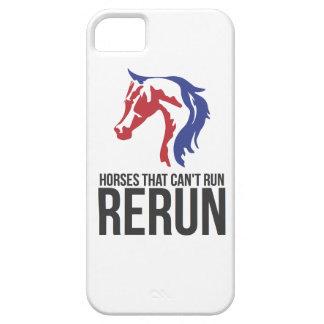 För reprislogotyp för häst Head iphone case iPhone 5 Fodraler