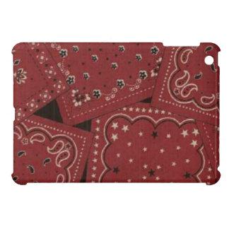 För röd fodral för fullföljande BandanaiPad för iPad Mini Mobil Skal