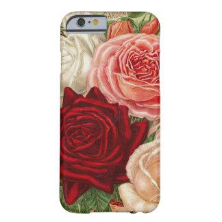 För roiPhone 6 för vintage trädgårdarbeteaste Barely There iPhone 6 Fodral