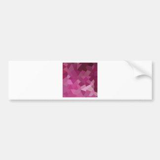 För rosa bakgrund för polygon rosaabstrakt för bildekal