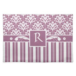 För rosa- och vitart déco för elegant rosa blommig bordstablett