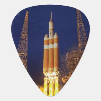 För rymdskeppraket för NASA Orion barkass Plektrum