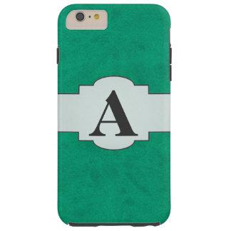 För sammetpersonlig för hav grönt kasino för hem tough iPhone 6 plus fodral