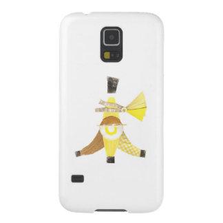 För Samsung för banan kluvet fodral galax S5 Galaxy S5 Fodral