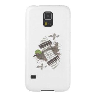 För Samsung för duva plant fodral galax S5 Galaxy S5 Fodral