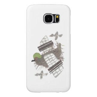 För Samsung för duva plant fodral galax S6 Samsung Galaxy S6 Fodral