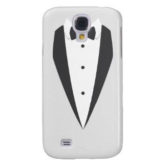 för Samsung för fluga för vitsmokingsvart fodral g Galaxy S4 Fodral