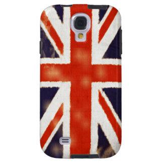 För Samsung för jack för UK-flaggavintage fackligt Galaxy S4 Fodral