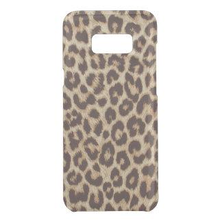 För Samsung för Leopardtryck ovanligt fodral för