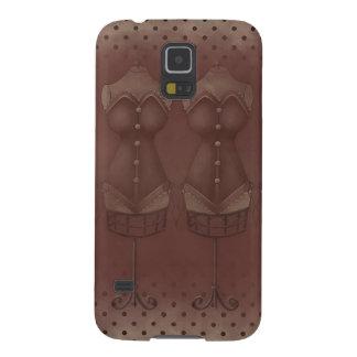 För Samsung för vintageSteamPunk klänning Nexus Galaxy S5 Fodral