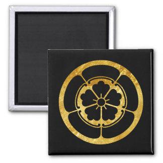 För samuraiklan för Oda Måndag japanskt guld på Magnet