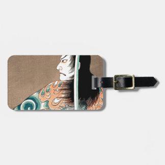 För Samuraikrigare för klassiker japansk Bagagebricka
