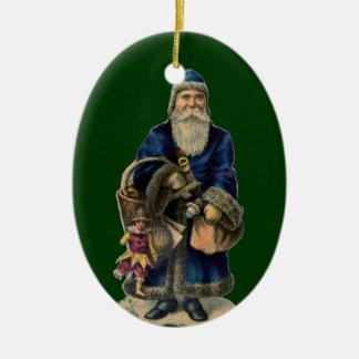 För Santa för gammal värld prydnad jul Jul Dekorationer