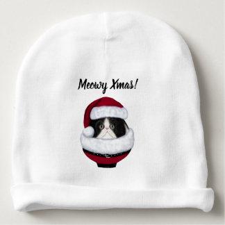 För Santa för kattungekatthelgdag hatt sticka